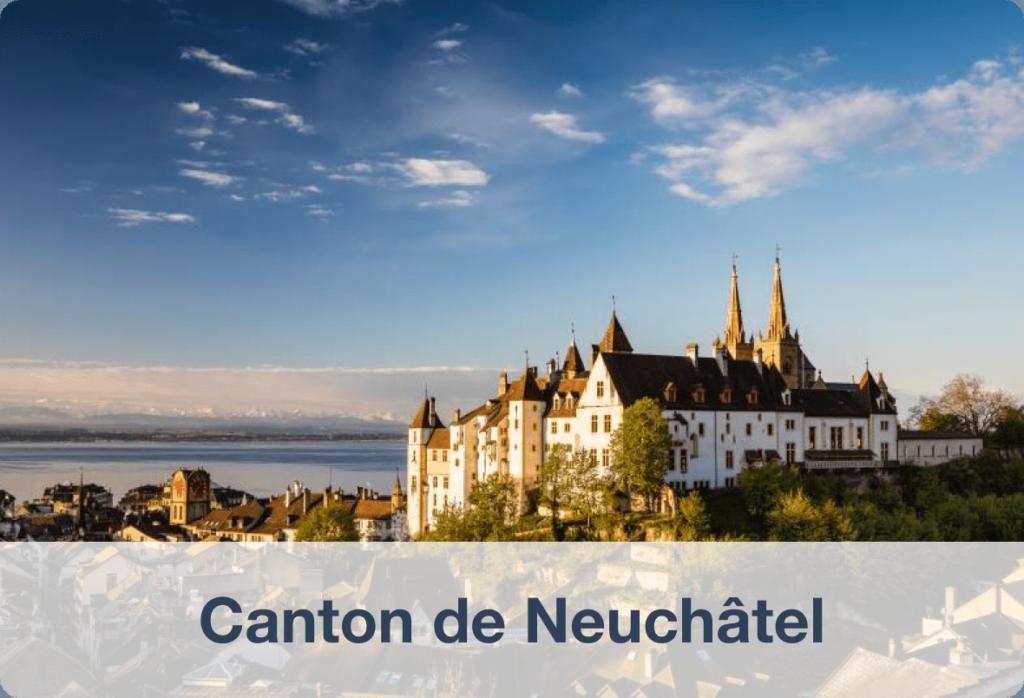 Biens immobilier à vendre dans le canton de Neuchâtel